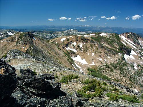 Western Ridgeline from Sweeney Peak