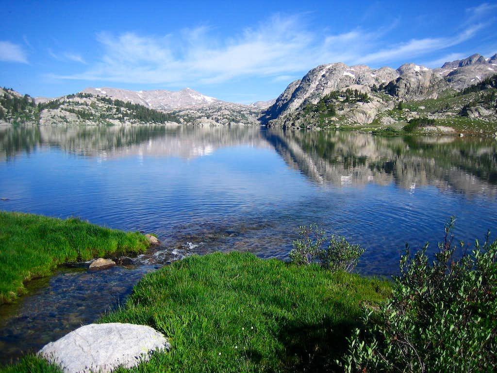 Island Lake approach