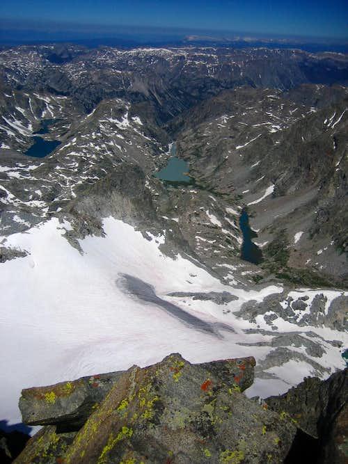 Gannett Summit Look down