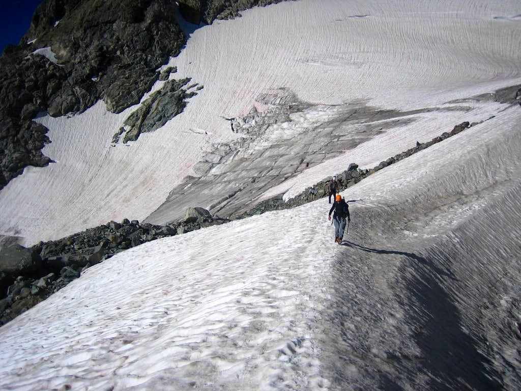Glacier Travel on Gannett