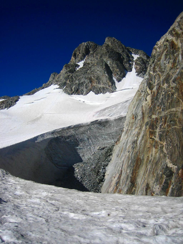 Gooseneck Glacier - Dinwoody Glacier