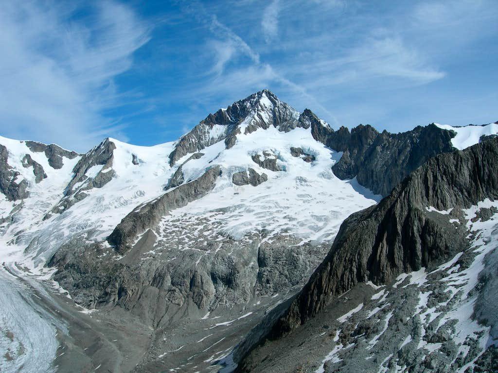 Aletschhorn from Oberaletschhutte