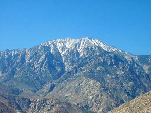 View of San Jacinto from...