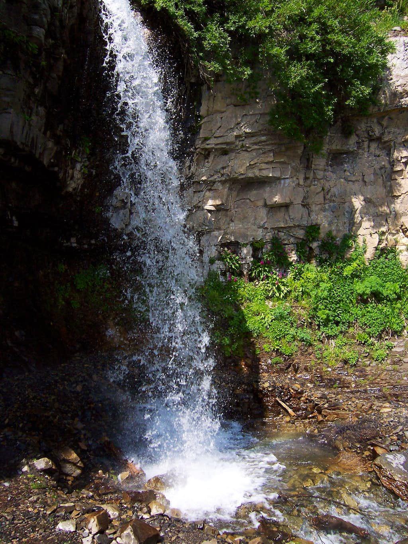 Aspen Grove Trail Waterfall