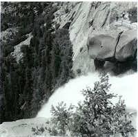 Top of Nevada Falls. Taken...