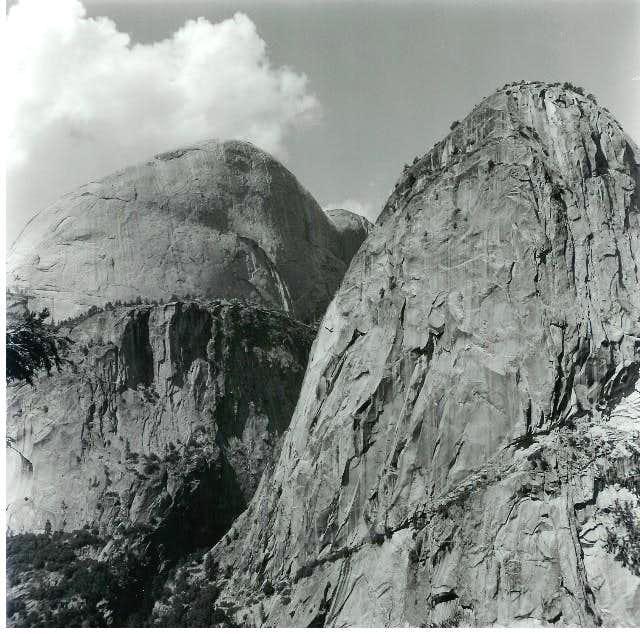 Liberty Cap (right) and the...