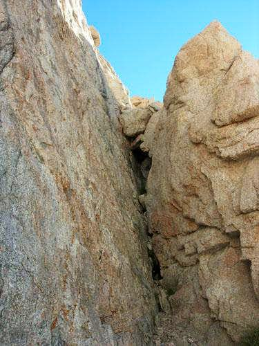 Wotan's Throne - South Chimney Route