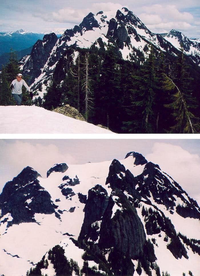 Whitehorse fr Lone Tree Peak