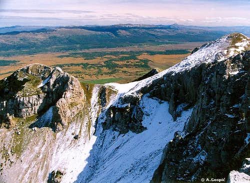 Troglav view