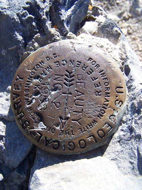 Borah Peak, ID-Bench Mark