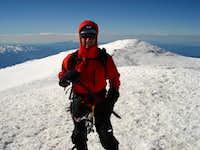 On Rainier's Summit
