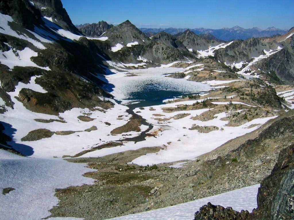 Mt Maude Ice Lakes