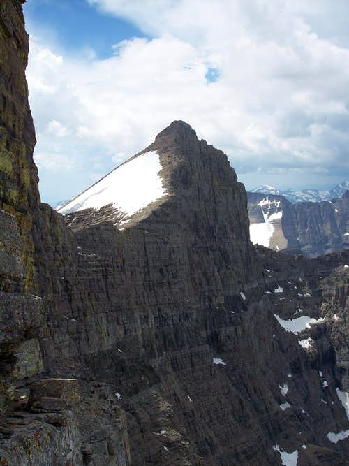 North face of Mt. Siyeh