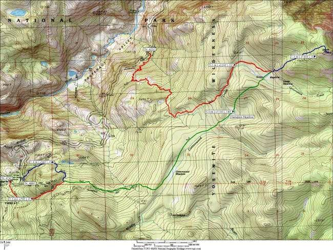 Annotated topo map of Smith...