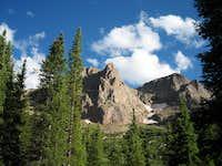 View from Campsite/Chicago Basin/Sunlight Peak