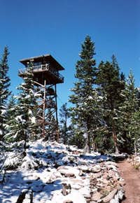 Spruce Mountain Lookout Tower