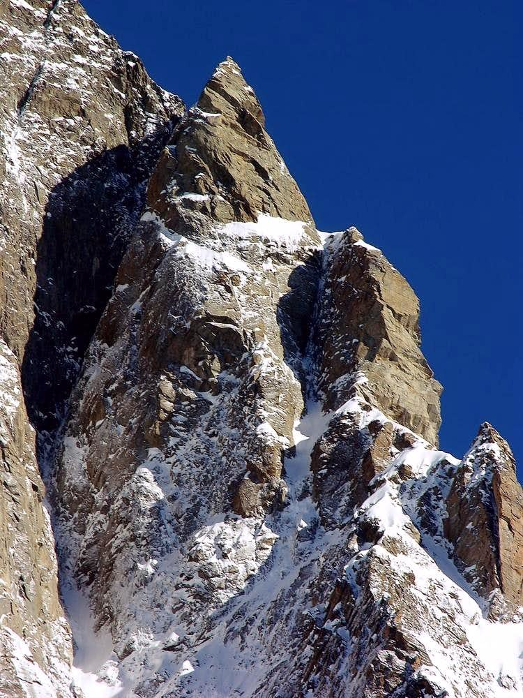 Les Grandes Jorasses, the Tronchey ridge