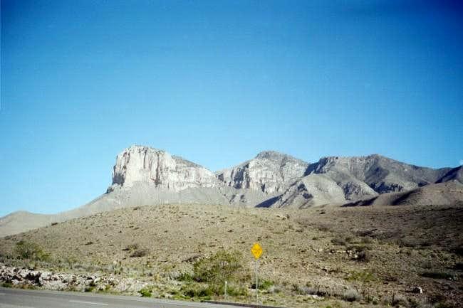 El Capitan (leftmost) and...