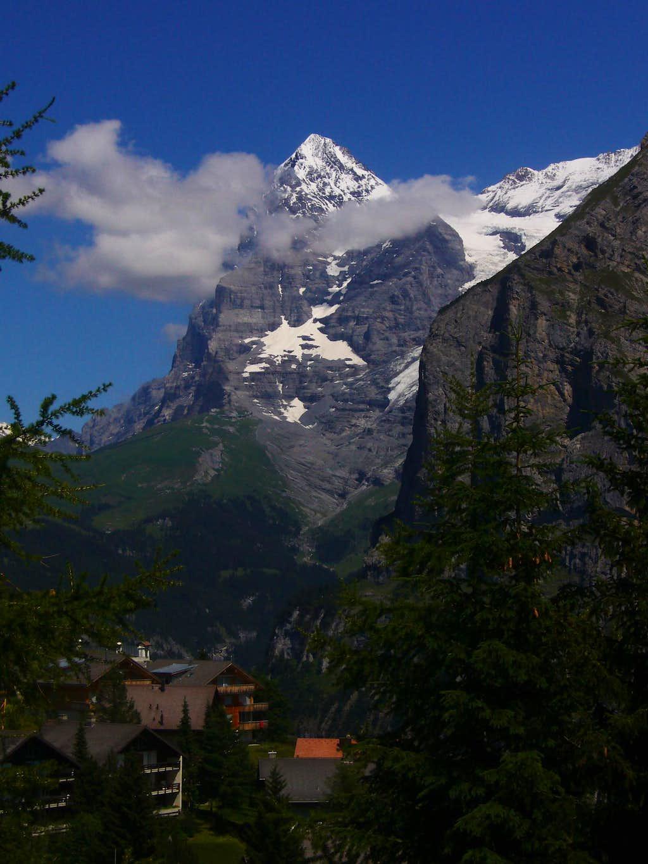 Eiger from Mürren