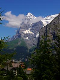 Eiger from Mürren