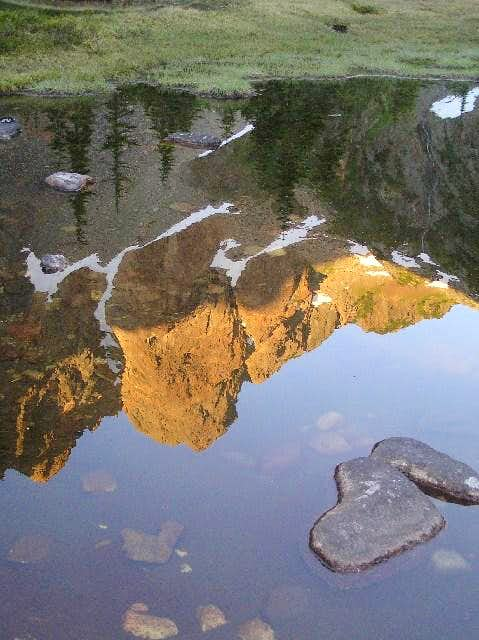 West Buttress of The Old Settler Reflection