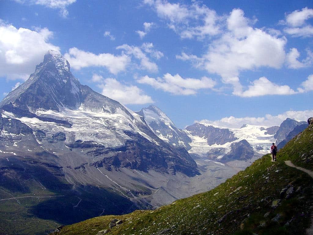 Matterhorn from the Hobalmen