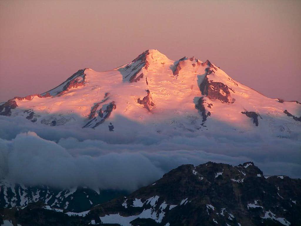 Glacier Peak From Mt Maude