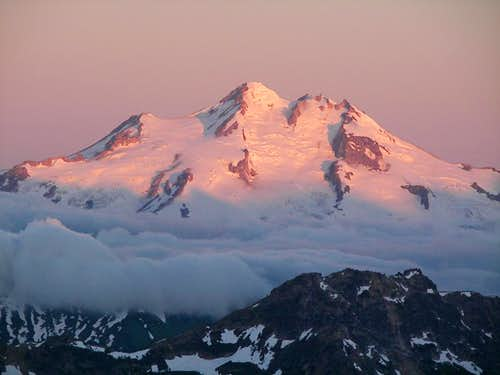 Glacier Peak From Mt Maude