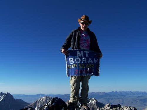 Borah Summit Flag