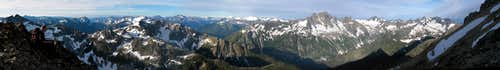 North Central Cascades Panorama