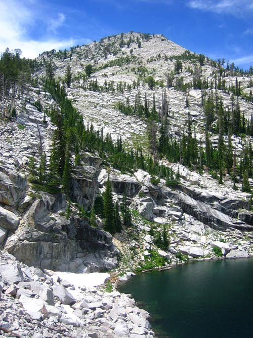 Above Heart Lake-Trinity