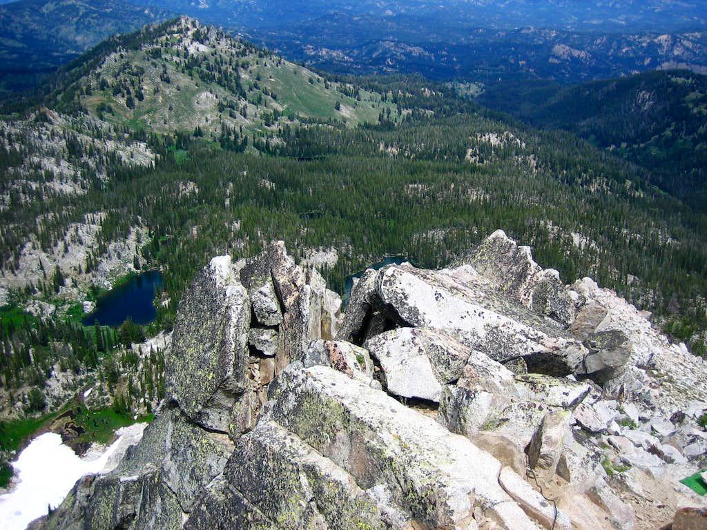 Looking NE from near the summit