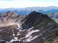 Ridge to Mt Helen