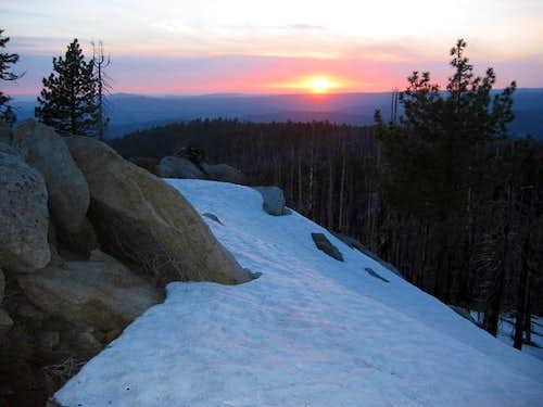 Sunset from Smith Peak\'s...
