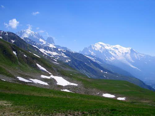 Mont Blanc landscape