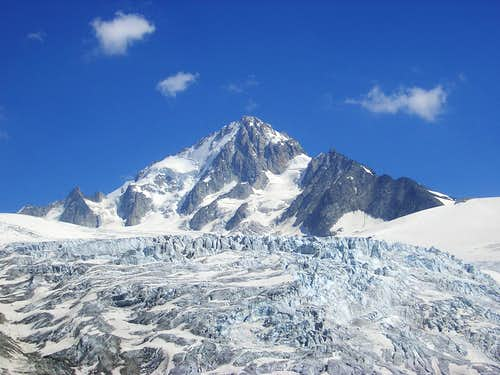 Aiguille de Chardonnet and Glacier du Tour