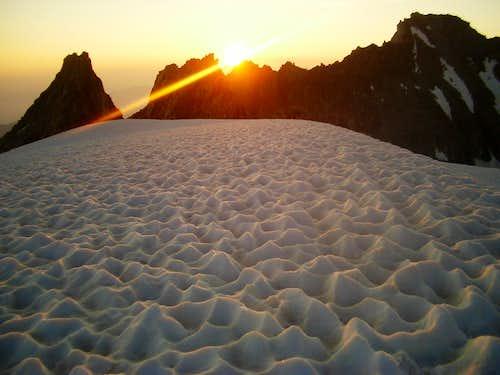 Col Droit / Pass of Plines - Sunrise