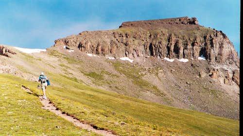 Up the East Ridge