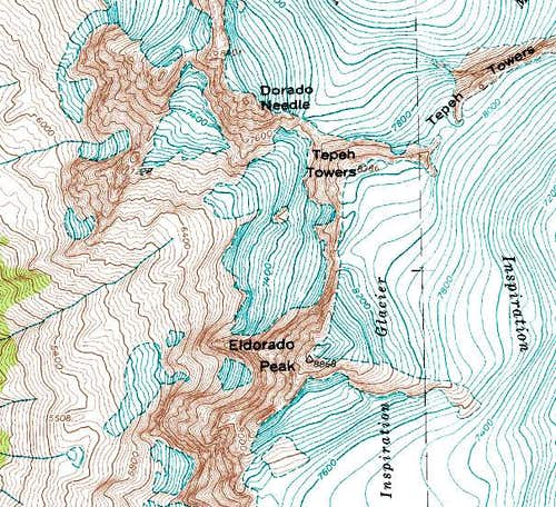 Dorado Needle & Eldorado Peak