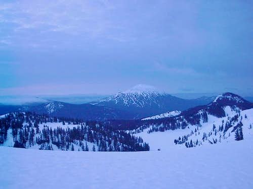 Mt. Bachelor in the morning...
