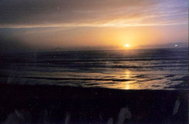Sunset from nearby Neskowin