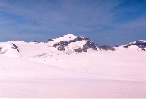 Mt. Collie from St. Nicholas Peak