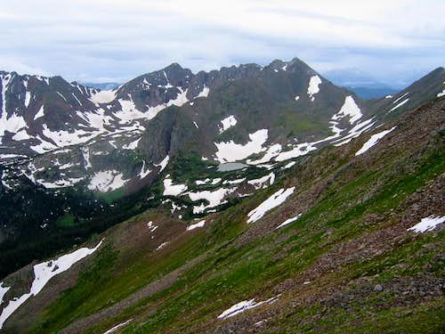 The Grand Traverse Peaks