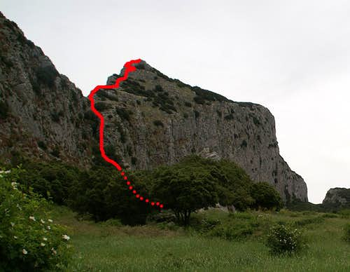 South-Western Ledge Route