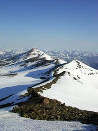Stanislaus Peak from near the...