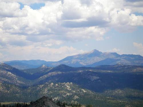 Olancha Peak as seen from Bald Mtn