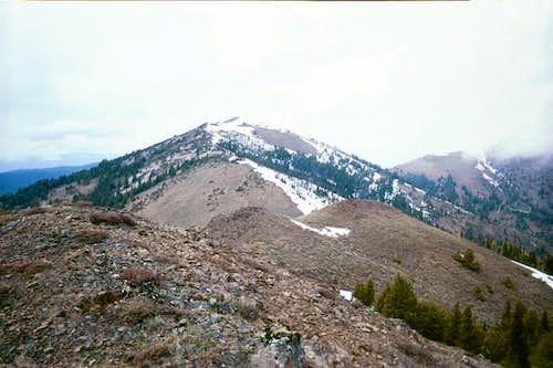 Fields Peak from the summit...