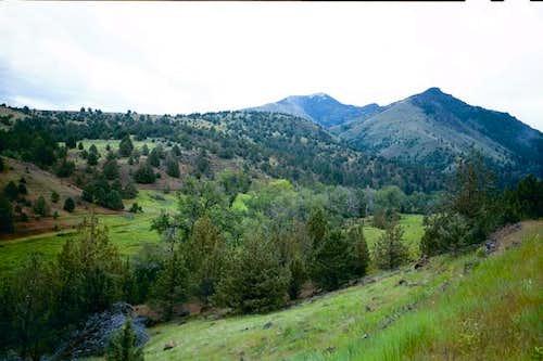 The western ridge of Fields...