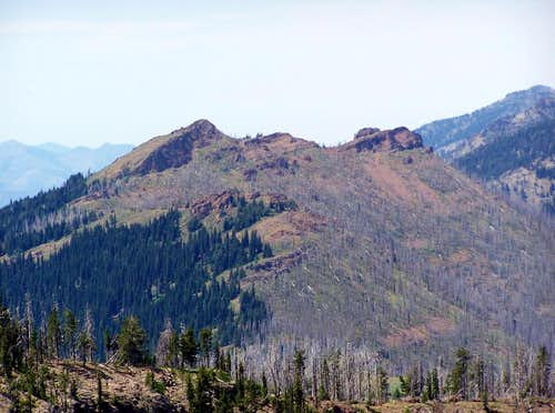 Indian Creek Butte