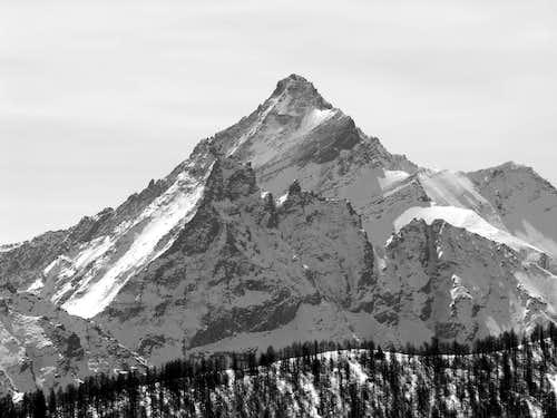 La Grivola (3969 m), dalla Torre Tonda